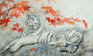 White tigress by IrenaDem