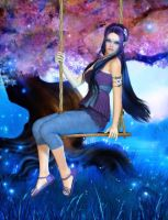 Swingin' on a Summer's Eve by RavenMoonDesigns