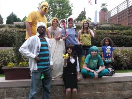 Adventure Time group that just sort of happened by EmplehsADeviant