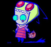 Halloween GIR by Slash-Free-JCV