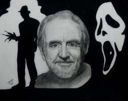Wes Craven by BladaMerry