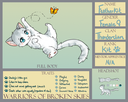 WoBS: Featherkit of Thunderclan by Eeveelutions95