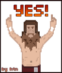 Daniel Bryan Pixel Art by HTN4ever