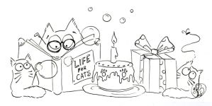 Life, cats and birthdays... by Maria-van-Bruggen