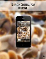 Beach shell for iphone by nanatrex