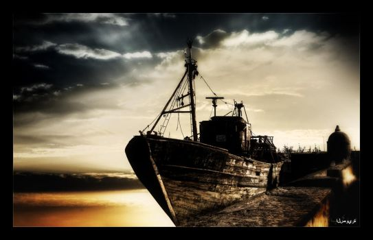 The Boat by b4b7