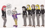The Witch Hunters Meet King Candy by 13foxywolf666