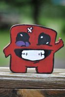 Homemade Super Meat Boy :D by CodyWilliam