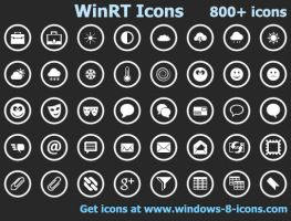 WinRT Icons by Ikont