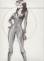 Catwoman. by White-Circles