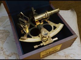 British Captains Brass Sextant by TMC-Deluxe