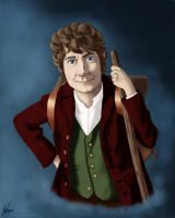 Bilbo Baggins by Valliegurl