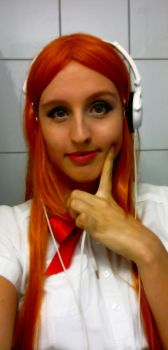 Orihime Cosplay Tryouts 1 by aquamarinesong