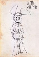 Jenny Retro by jordandorra