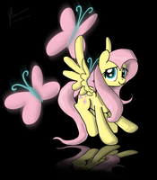 Fluttershy Wallpaper by Phendyl