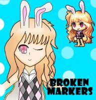 contest entry BrokenMarkers by mangaismything2