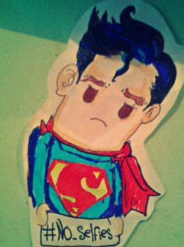 superman no like my selfies by neo4an