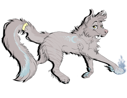 Wolf Adoptable by Rianach
