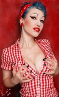 Pin up girl by Voodica