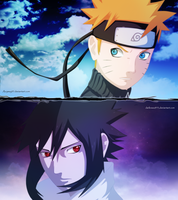Naruto_and_Sasuke by Anyway95
