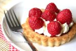 Raspberry and Lemon Cream Cookie Tart by claremanson