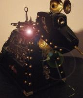 DOCTOR WHO CLOCKWORK STEAMPUNK K9 by Gallery44