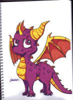 Spyro  by DeadGotashi
