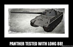Panther (88mm L/71) by Hellomon100