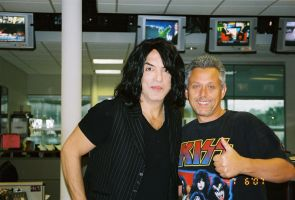 Mike and Paul Stanley by MikeyStudios