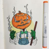 Mervyn Pumpkinhead by StudioBueno