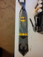 Batman tie by raptor007