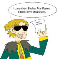 B-tches Love Manifestos by EquilibriumArts