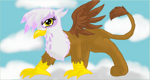 Gilda the Griffon by CascadingSerenity