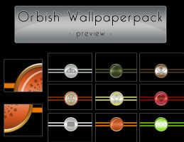 - - Orbish Wallpaper Pack - - by crimecontrol