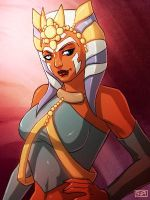 Star Wars Ahsoka? no its Princess Zaa Vashee by Aliens-of-Star-Wars