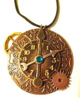 Steampunk'ed Necklace by Deathsdoor-inc
