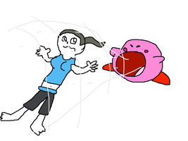 Wii Fit Trainer in Smash Bros 4 by mrmenworld2010