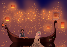 Tangled New Years 2011 by BoxedSurprise