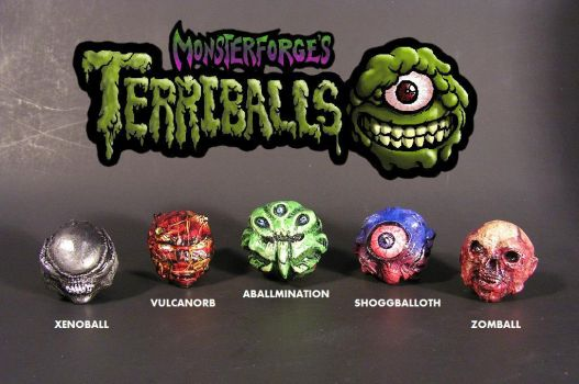 Terriballs!!! by monsterforge