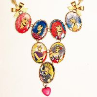 Jem Holograms Misfits Necklace by asunder