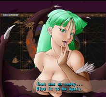 Morrigan Win Quotes #2 -Tasty- by UrielManX7