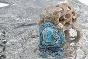 Ice Heart by Tuile-jewellery