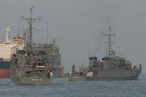 Sugashima-class minesweepers MSC-684 MSC-686 by DDmurasame