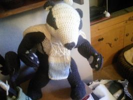 Wip a Badger by Moon-Crafter