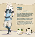 SHANTIES Extra - Asher Profile by CaptainMoony