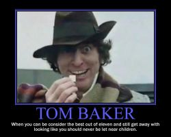 Tom Baker by Andrewnuva199