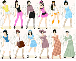 A Millenium of Fashion by supereilonwypevensie