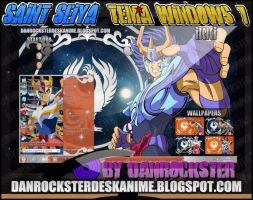 Ikki Fenix Theme Windows 7 by Danrockster