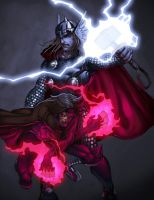 Thor  Gambit color comish by redeve