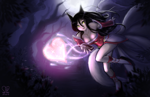 Ahri by koi-nano